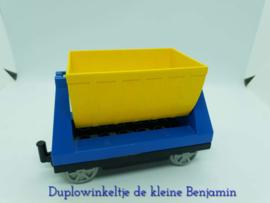 Duplo trein wagon met laadbak