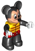 Mickey Mouse met reddingsvest