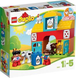 LEGO DUPLO boerderij - Mijn Eerste Boerderij - 10617 met doos