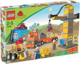 Lego Duplo grote bouwplaats 4988 met doos