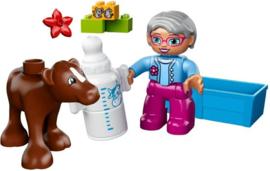 Lego Duplo 10521 Oma met kalfje