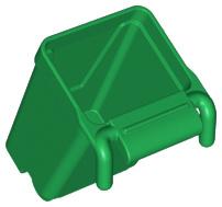 Duplo groene vuilnisbak - container kliko