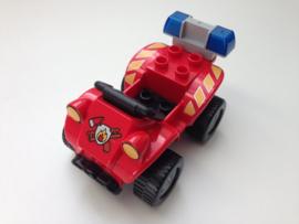 Lego Duplo brandweer snelle quad bike 2