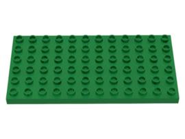 Duplo bouwplaat 6x12 groen
