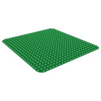 Duplo bouwplaat groen 24x24