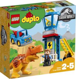 Duplo Jurassic World T-Rex Toren - 10880 met doos