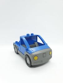Lego Duplo auto blauw hoog model
