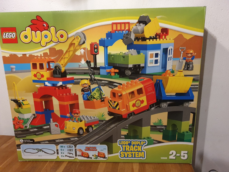 Lego Duplo  Luxe treinset 10508 in doos