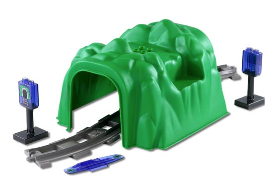 Duplo trein codesteen voor intellitrein met tunnel patroon 42389