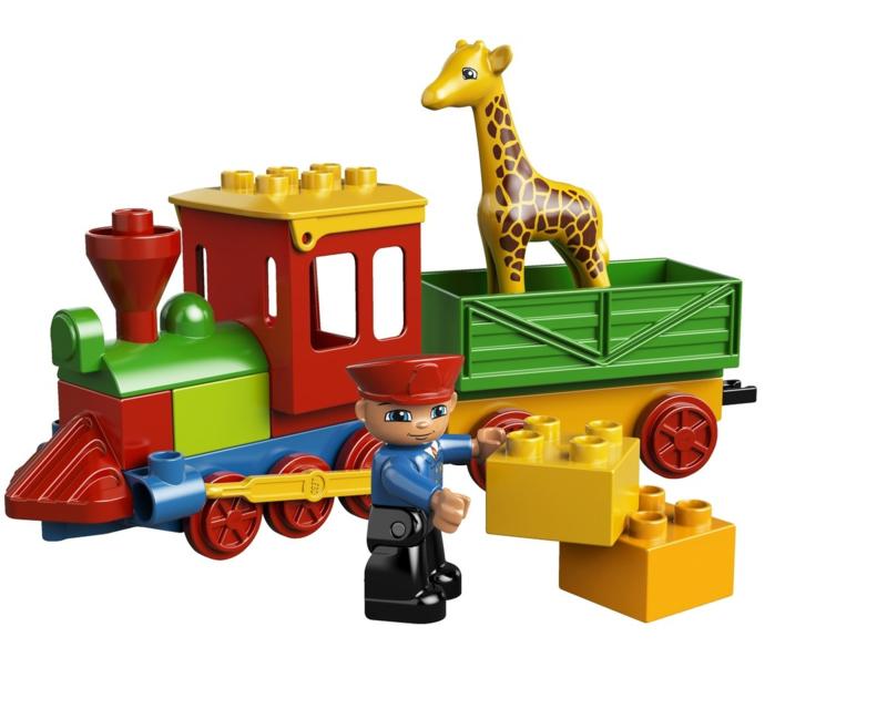 Duplo dierentuin trein 6144