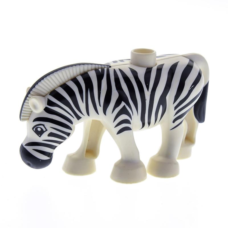 Duplo dieren : Zebra
