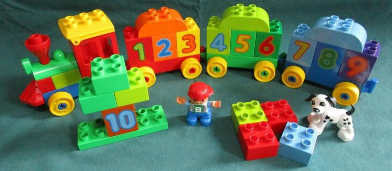 Lego Duplo getallentrein 10558