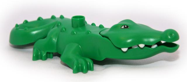 Lego Duplo dierentuin dieren krokodil derde editie