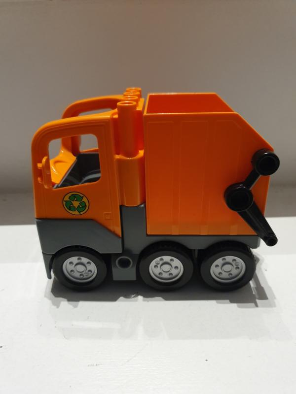 Lego Duplo vuilniswagen los (5637)