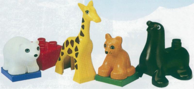 Lego Duplo baby dierentuin 2660