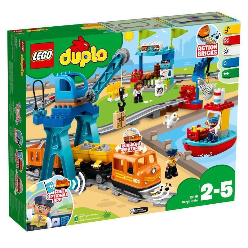 Lego Duplo trein 10875 10874 actiesteen met druppel symbool