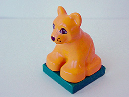 Lego Duplo dierentuin dieren leeuw welp oude model