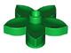 Bloemetje groen