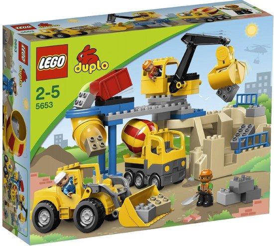 Lego Duplo Steengroeve 5653 met doos