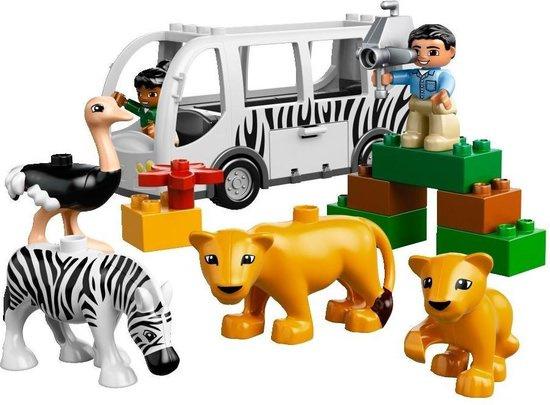 LEGO Duplo Ville Dierentuinbus - 10502 - safari