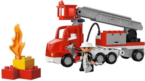 Duplo brandweerwagen 5682