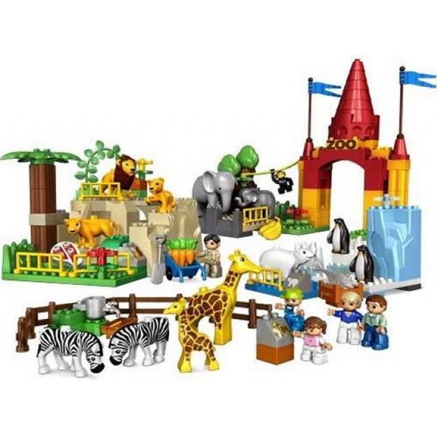 Duplo dierentuin - 4960 Reuzen dierentuin met doos
