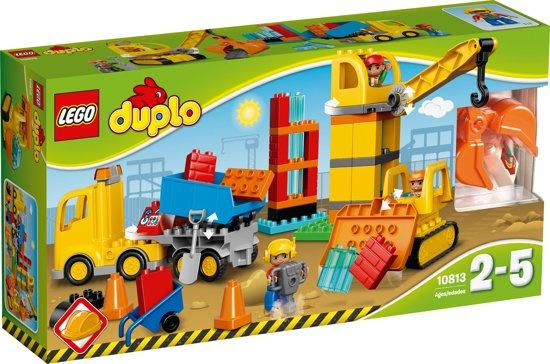 Duplo 10813 grote bouwplaats met doos