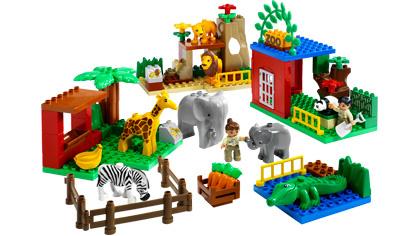 Duplo vriendelijke dierentuin 4968