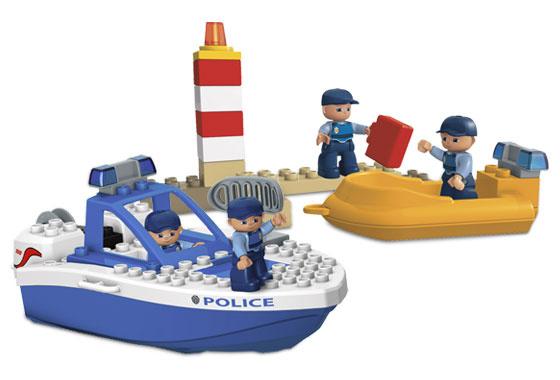 Duplo politie boot 4861