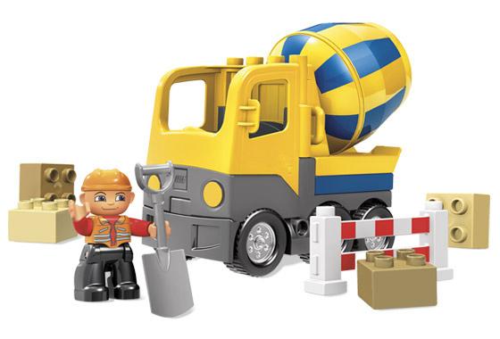 LEGO Duplo Ville Betonmixer - 4976 cement wagen