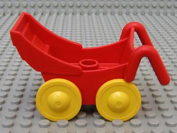 Kinderwagen rood