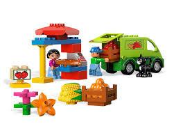 LEGO DUPLO Marktplein - 5683 met doos