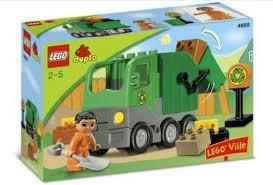 Lego Duplo vuilniswagen 4659 met doos