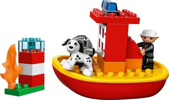 Duplo brandweerboot 10591 met doos