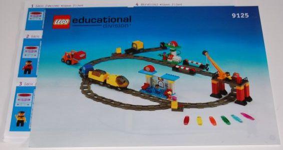 Lego Duplo trein actiesteen - codesteen - Station