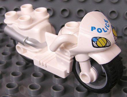 Duplo politie motor los