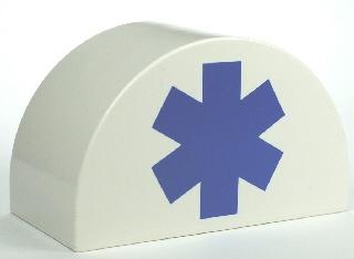 Duplo blokje ziekenhuis logo