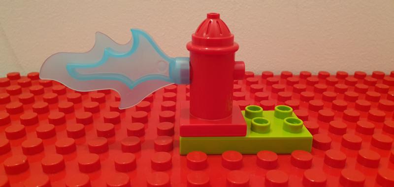 Duplo brandweerpaal met water