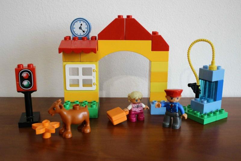 Lego Duplo trein station 10507