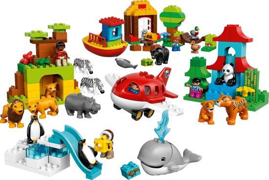 Lego Duplo rond de wereld 10805 met doos