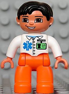 Medisch personeel ziekenauto Franklin