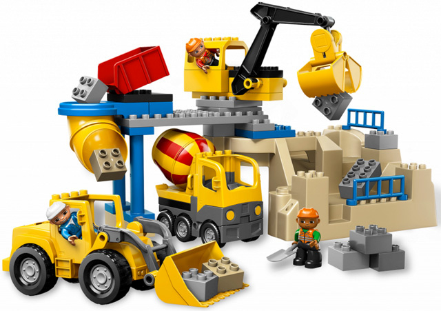 Lego Duplo Steengroeve 5653