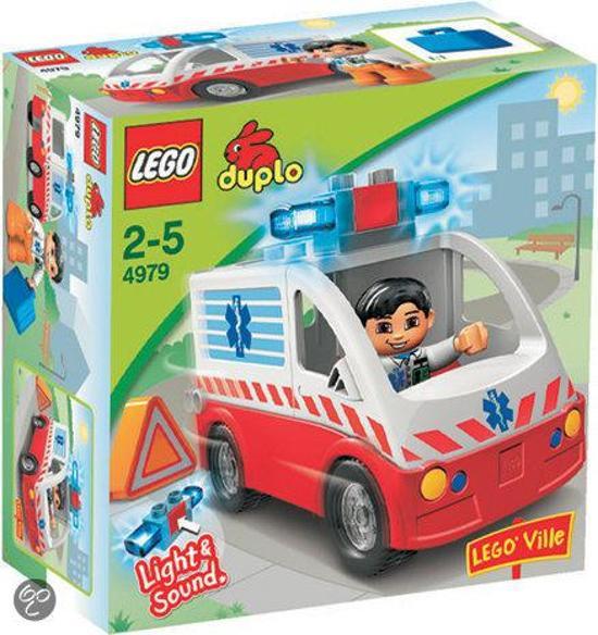 Duplo ziekenhuis ambulance 4979 met doos