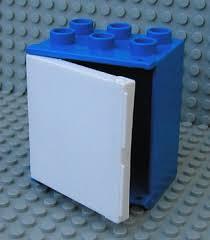 Duplo koelkast blauw