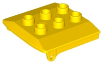Duplo stoomtrein cabinedak geel