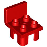 Duplo onderdelen : stoel rood