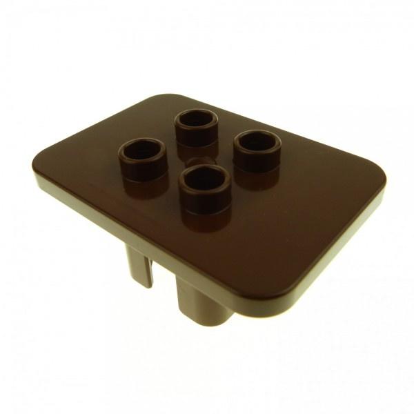 Tafel vierkant bruin