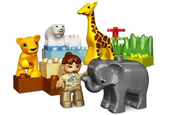 Duplo baby dierentuin 2 - 4962