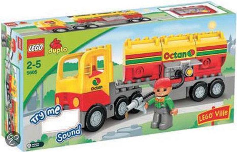 Duplo Octan tankwagen 5605 met doos