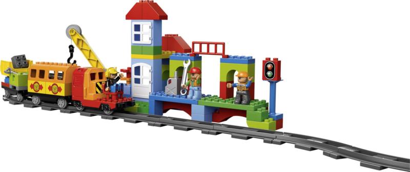 Lego Duplo  trein set 10508 luxe treinset + uitbreiding 10506